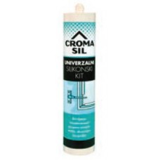 KIT 280 ml SILIKONSKI CROMASIL TRANSPARENT